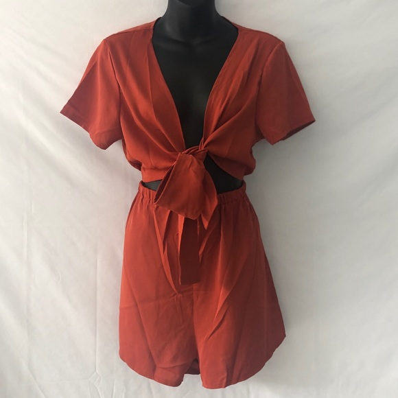 Shein Jumper, Rust Colored Size Large GUC